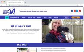 Norfolk Greyhound Rescue - Black Diamond Design