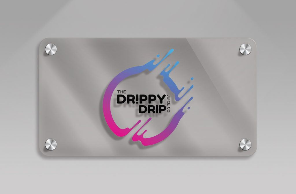 Drippy Drip Logo - Black Diamond Design