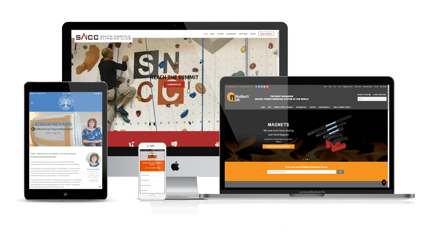 Responsive Website Design - Black Diamond Design