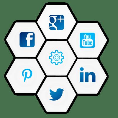 Socially Connected Websites - Black Diamond Design