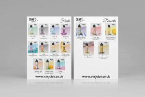Craft Vape Co Flyer Design